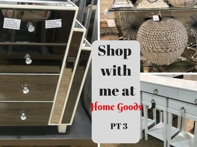 HOME GOODS SHOP WITH ME!! OCTOBER 2017 PART 3 **NEW HOME DECOR & CHRISTMAS ITEMS!!**
