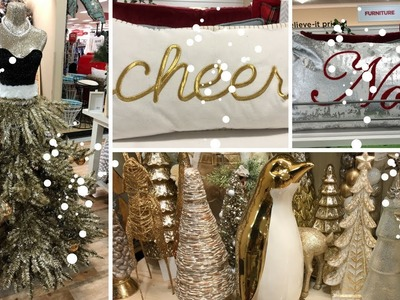 HOME GOODS SHOP WITH ME PART 4 DECOR! CHRISTMAS DECOR!!????????????????????????????????