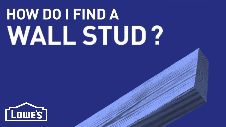 How Do I Find a Wall Stud? | DIY Basics
