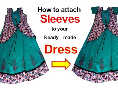 How to Attach Sleeves to your Ready Made Dress - Ramulu Tailor