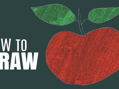 How To Draw An Apple   Step by Step Drawing Tutorial Video   Shemaroo Kids