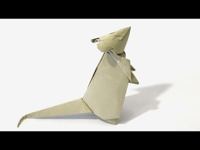 How to fold an Origami Mouse