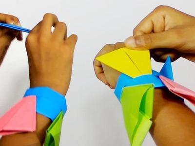 How diy button earrings diy button earrings how to make kite how to fold an origami ninja arrowhead flying flicker with mightylinksfo