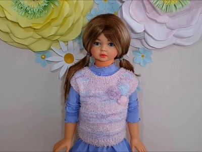 How to knit a sweater from 2 to 4 years old - Part 2