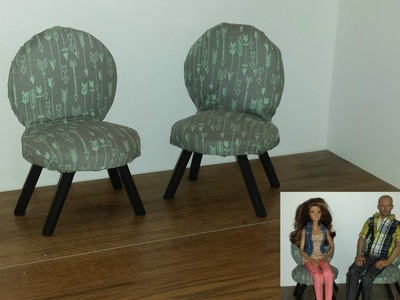 How to make 2 Round Doll Chairs