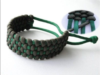 "How to Make a ""Basket Weave"" Mad Max Style Paracord Survival Bracelet"