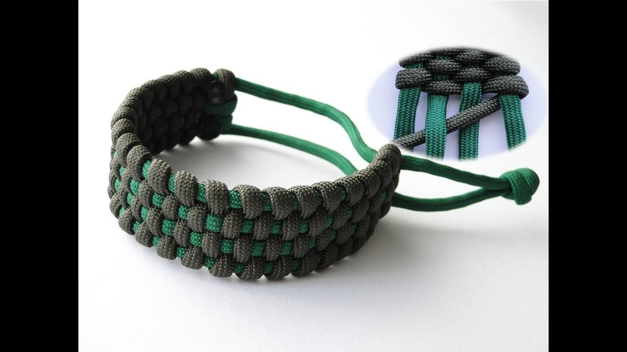 How to Make a Basket Weave Mad Max Style Paracord Survival