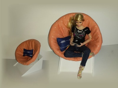How to make a Doll Comfy Lounge Chair