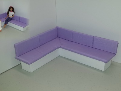 How to make a Doll Corner Couch