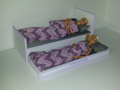 How to make a Doll Double Bed