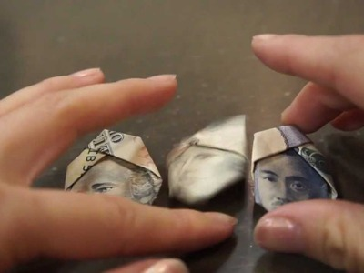 How to make a turban guy with money -Origami Lesson #2-