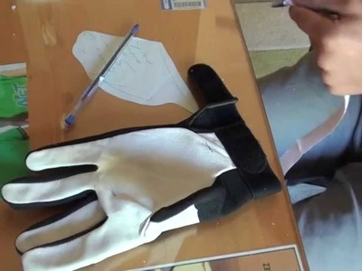 How to make good longboard gloves - Como hacer guantes de Longboard Buenos