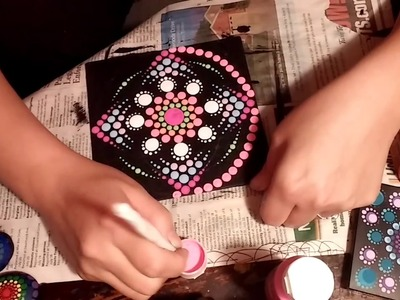 How To Paint Dot Mandalas SIMPLE TOOLS