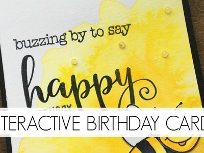 Interactive Build-a-Bee Kid's Birthday Card