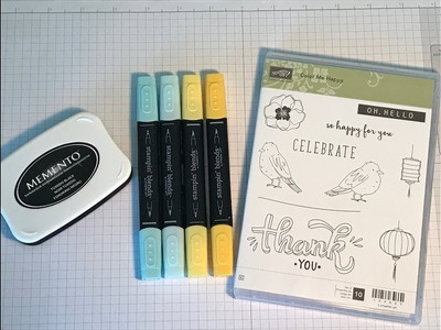 Introducing Stampin' Blends and a special offer from me - Great new alcohol markers from Stampin' Up