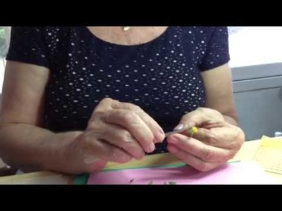 Making 1.12th scale dandelions with Mary Kinloch