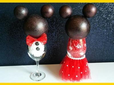 Mickey y Minnie Mouse Centro de Mesa