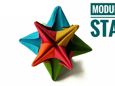 Modular Star - Origami | DIY | Tutorial by Paper Folds - 838