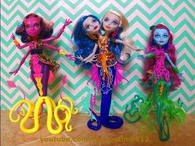 MONSTER HIGH GREAT SCARRIER REEF GHOUL FISH Toys Review   itsplaytime612