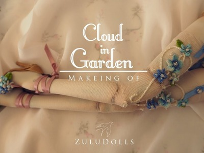 OOAK Cloud in Garden Making of