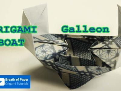 Origami Boat - Galleon