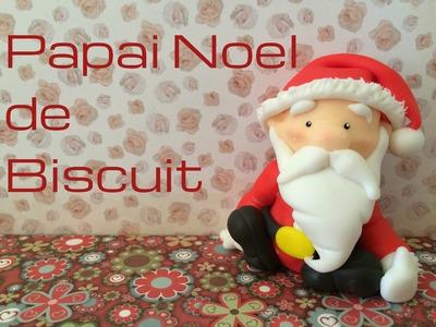 Papai Noel de Biscuit
