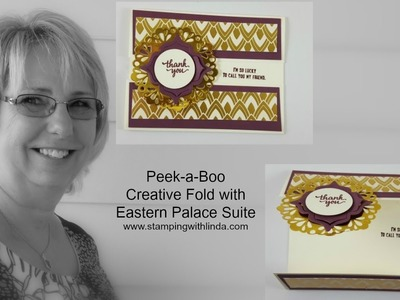 Peek a Boo Card With Eastern Palace Suite