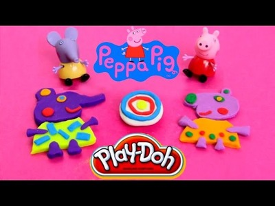 Play Doh How to make Peppa Pig friends with playdough by Unboxingsurpriseegg