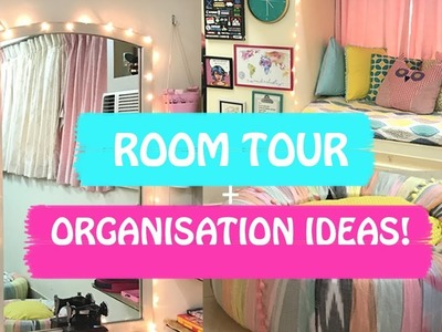 ROOM TOUR | ORGANISATION HACKS | CLOSET TOUR | HOW I STORE MY STUFF!