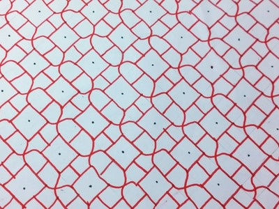 Sashiko Embroidery. Quilt Design Tutorial-5- For Very Beginners