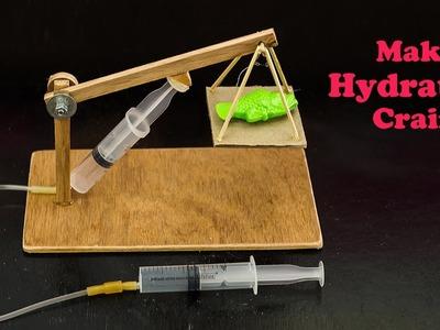 School Science Projects Hydraulic Crain