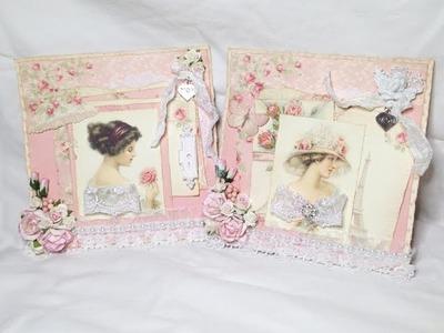 Shabby Chic Mother's Day Cards - Pion Design Paris Flea Market