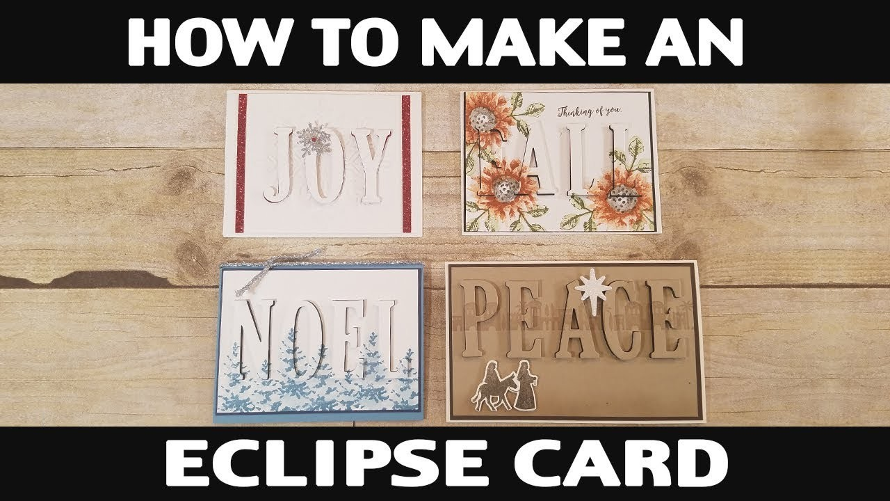 Stamping Jill - How To Make An Eclipse Card