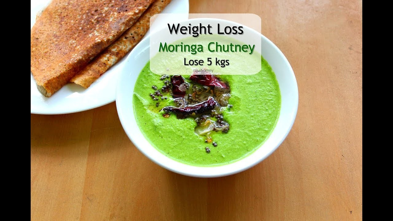 The BEST Moringa Green Chutney For Weight Loss - Skinny Recipes To Lose Weight Fast - lose 5 Kgs