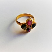 Tourmaline Ring/Birthday gift for her/Valentines Day Gif for her