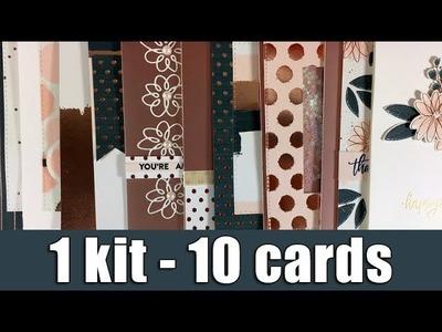 1 kit - 10 cards   SSS October 2017