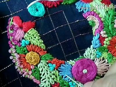 151-Beautiful embroidery from very basic stitches (Hindi.Urdu)