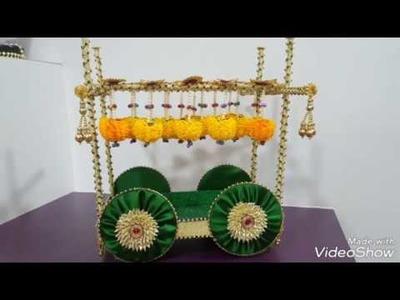 87. Wedding Tray Cart