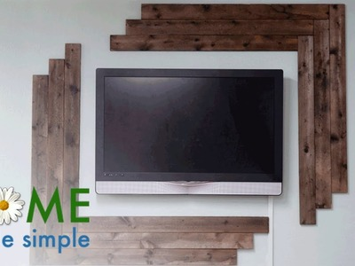 A Simple Hack to Make New Wood Look Old | Home Made Simple | Oprah Winfrey Network