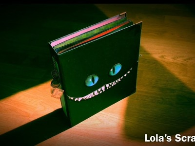 Album Alice In Wonderland - Tim Burton DIY Scrapbooking