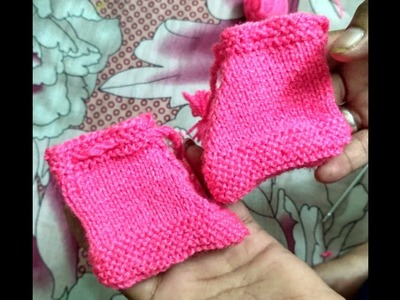 Baby sweater design-woolen jootie portion , one colour sweater design for baby or kids part 17