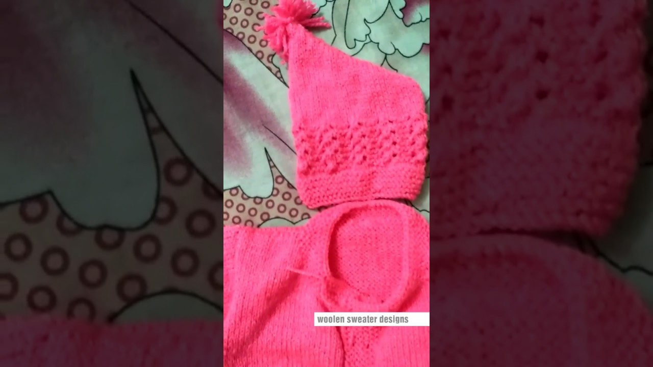 Baby sweater design | woolen sweater designs for kids or baby in hindi - new sweater design final