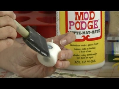 Can Decoupage Glue Be Used on a Votive Candle? : Candle Making & More