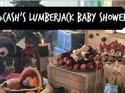 Cash's Lumberjack Baby Shower