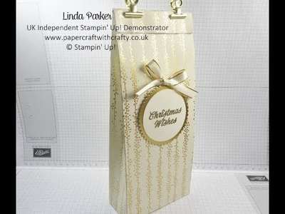 Christmas Countdown Project No 9 - Tall Super Strong Reinforced Gift Bag