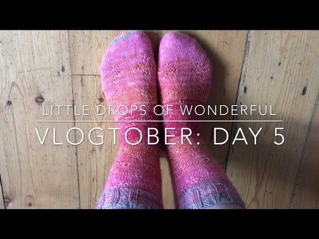 Day 5: Vlogtober- Little Drops of Wonderful