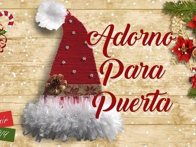 Decoracion navideña para Puerta Christmas Decoration for Door con Artemir
