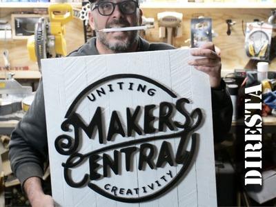 DiResta Makers Central sign