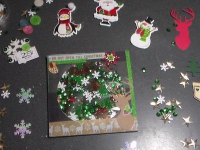 DIY CD Christmas Shakers