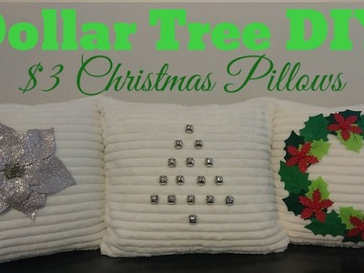 DIY Christmas Decorations | $3 Pillows